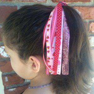 strawberry ponytail streamer